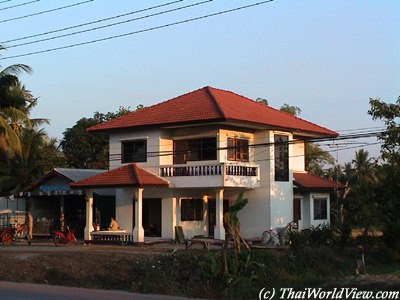 Thai architecture a little bit for Thailand houses pictures